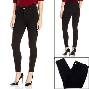 "7 For All Mankind "" The Skinny "" Black Jeans"